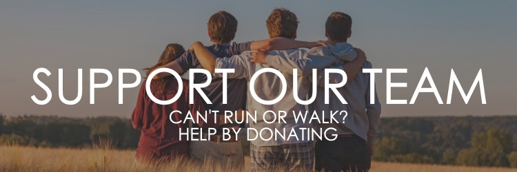 SUPPORT OUR TEAM. CAN'T RUN OR WALK? HELP BY DONATING